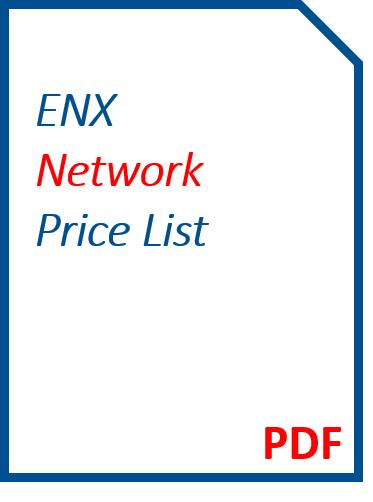 ENX Network Price List